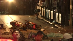 Bangkok Bombing  - stock footage
