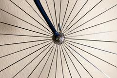 Isolated bicycle wheel Stock Photos
