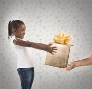 Unexpected  child present Stock Photos