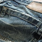 Stock Photo of denim design of fashion jeans textile