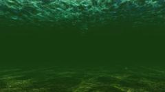 River Dark Underwater Low Light - stock footage