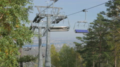 ropeway support - stock footage