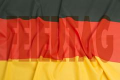 Day of German unity - stock photo