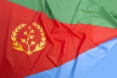 Eritrea flag Stock Photos