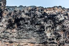 Barren cliff Stock Photos