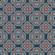 Stock Illustration of Vector seamless pattern. Abstract stylish background