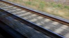 Fast Running Railways - stock footage