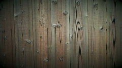 Wooden plank, wood panel background texture with copy space Stock Footage