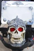 skull and crossbones - stock photo