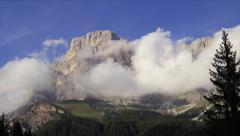 Timelapse Dolomites Stock Footage