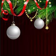 Magic Christmas Background. - stock illustration