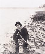 Stock Photo of Clam digger