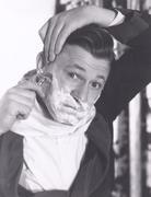 Close shave - stock photo
