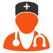 Physician Icon Stock Illustration