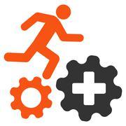 Treatment Process Icon - stock illustration