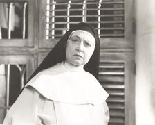 Disappointed nun Stock Photos