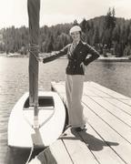 Nautical fashion Stock Photos