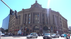 South Station Boston Stock Footage