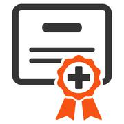 Stock Illustration of Certification Icon