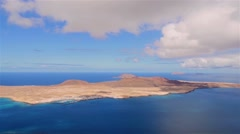 Lanzarote, La Graciosa Stock Footage
