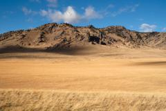 Stock Photo of Cliffs Bluffs Valley Farmland Pacific Northwest Territory