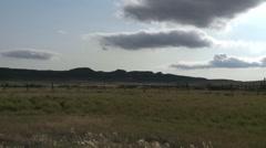 Prairie landscape in Saskatchewan. Stock Footage