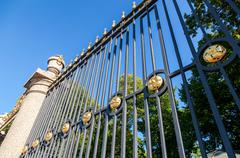 Stock Photo of The fence of the Summer Garden in St. Petersburg, Russia