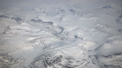 Stock Video Footage of Arctic, Nunavut, Mountain View From Plane