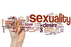 Sexuality word cloud concept - stock illustration
