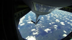 Blue Angels F/A-18 Fighter Refueling Stock Footage
