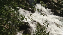 Stream flowing through Bugaboo Provincial Park. Stock Footage