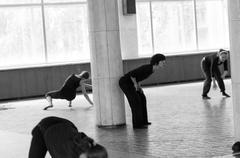 International summer dance school - stock photo