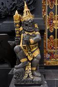 Small black Temple, Nusa Penida, Bali Stock Photos
