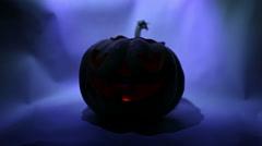 Jack Lantern for Halloween - stock footage