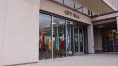 Tucson City Hall Stock Footage