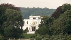Villa Hammerschmidt in Bonn, Germany Stock Footage