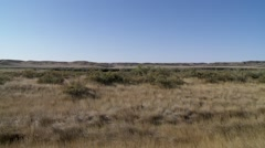 Sprawling plains of Saskatchewan. Stock Footage