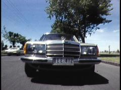 MERCEDES BENZ CAR - stock footage