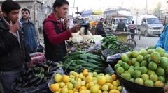 Markets in Aleppo Syria Stock Footage