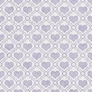 Purple and White Chevron Hearts Tile Pattern Repeat Background - stock illustration