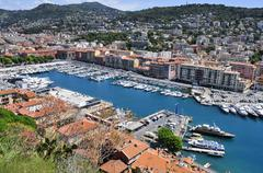 Lympia Port in Nice, France Stock Photos