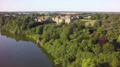 Blenheim Summer: River & Palace Stock Footage