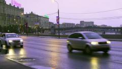 Day of the city of Moscow 868 years Stock Footage