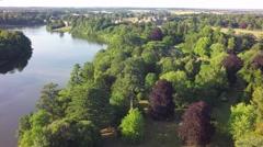 Blenheim Summer: Along River Stock Footage