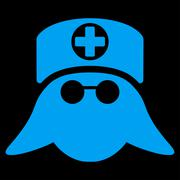Nurse Head Icon - stock illustration