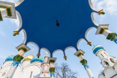 Stock Photo of Trinity-Sergius Lavra in Sergiev Posad, Russia. landmark