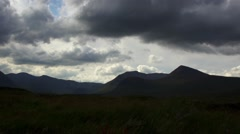 Scottish Highlands Timelapse Stock Footage