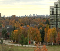 Canadian Landscape (Autumn) Stock Footage