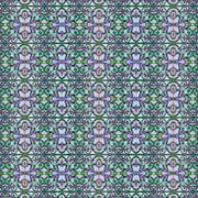 Modern Geometric Arabesque Seamless Pattern Stock Illustration