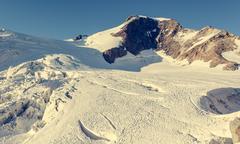Spectacular mountain peak. Stock Photos